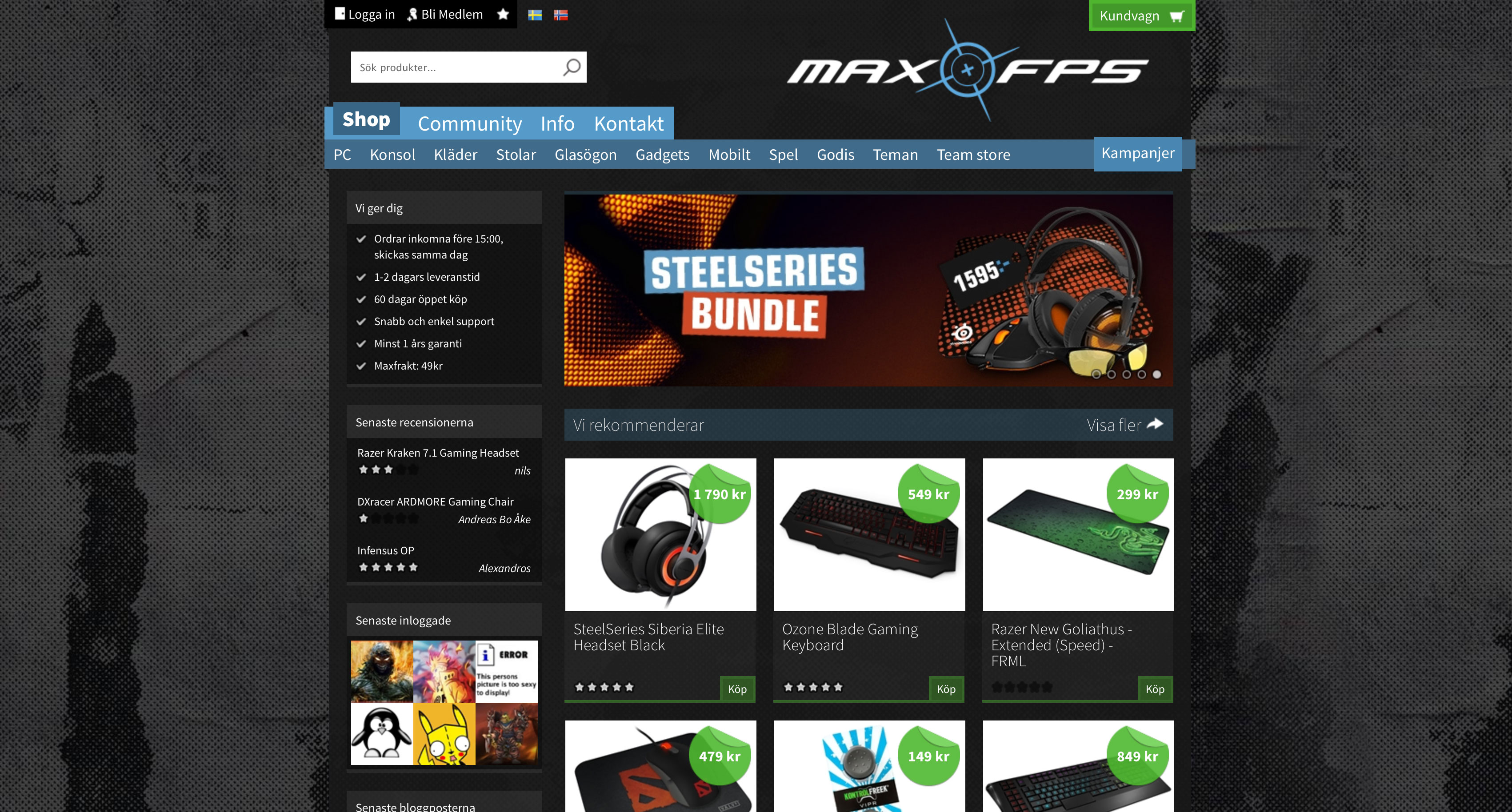 MaxFPS Front