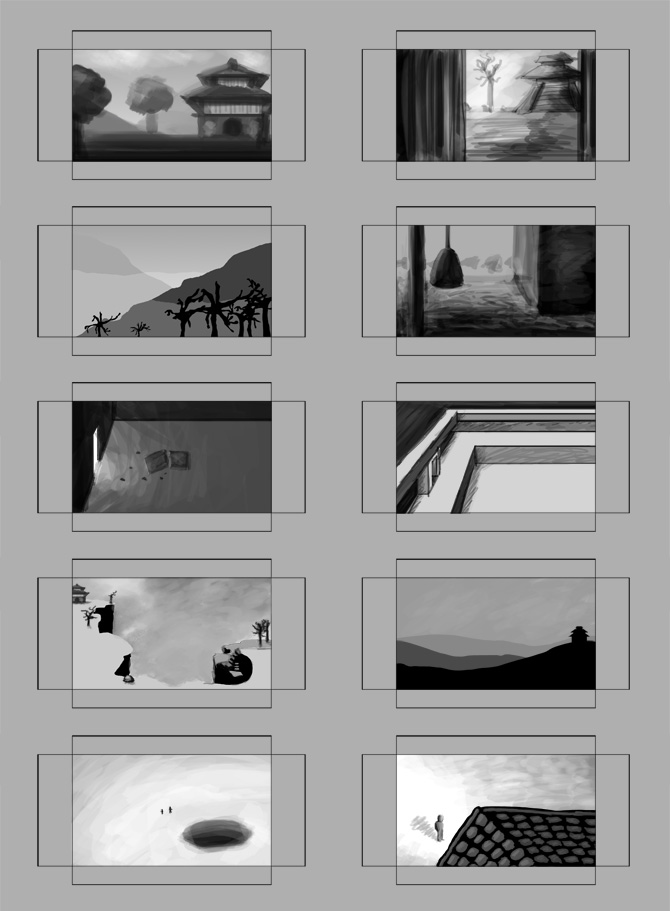 Restless Sight Storyboard